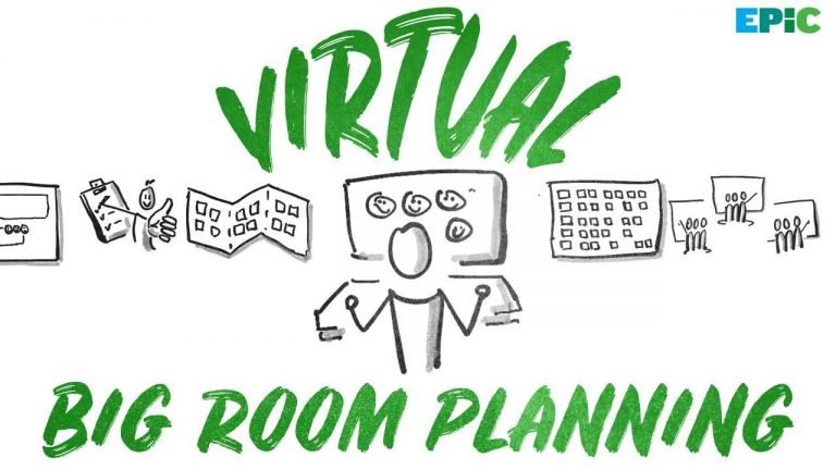 Virtual Big Room Planning - Epic Agile